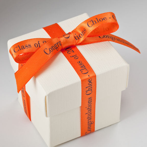 "Personalized Satin Ribbon 3/8"" - 36 Colors"