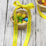 "3/8"" Personalized Easter Ribbon"