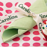 "Personalized Satin Ribbon 7/8"" - 36 Colors"