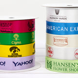 "Custom Logo 7/8"" Satin Ribbon"