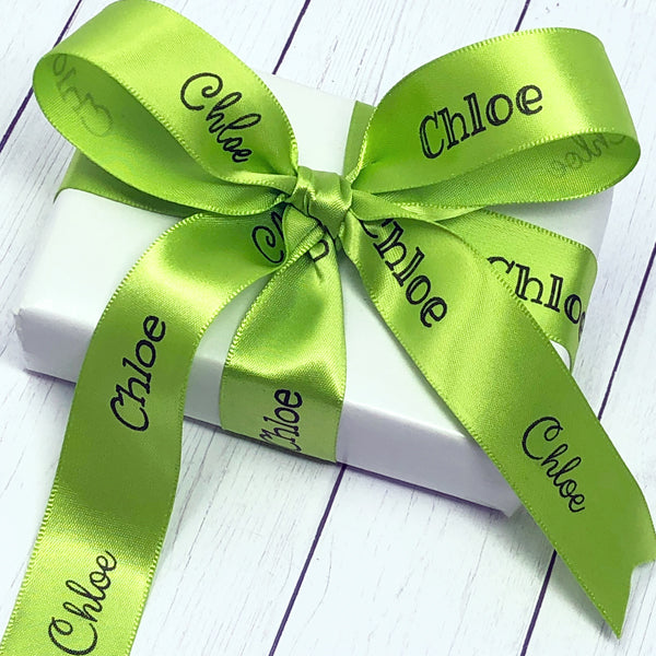 "7/8"" Personalized Easter Name Ribbon"