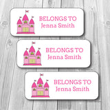 Fairy Castle Waterproof Sticker