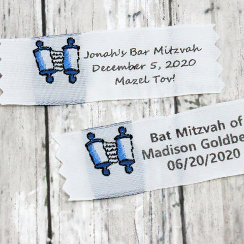 Clothing Label Style 89 Bar / Bat Mitzvah