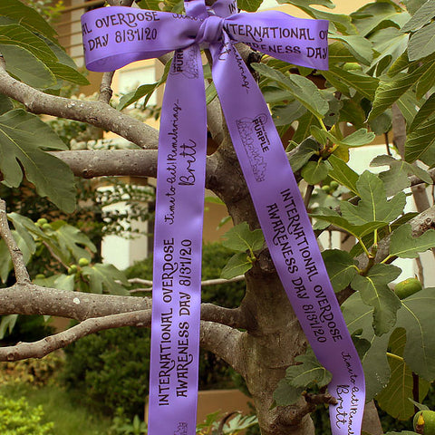 Overdose Awareness Ribbon