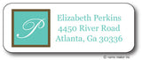 Initial Address Labels - 14 colors available