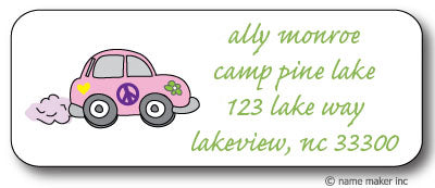 Lovebug Address Stickers
