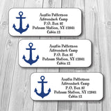 Anchors Aweigh Address Stickers