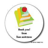 Round Books Gift Stickers