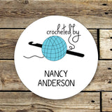 Crochet Gift Sticker