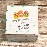 Easter Eggs Gift Stickers