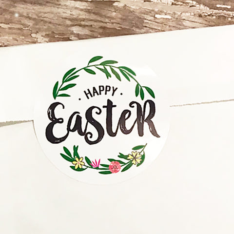 Happy Easter Gift Stickers