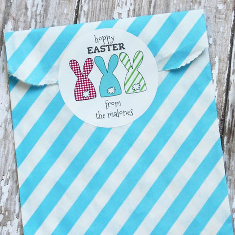 Hoppy Easter Gift Stickers