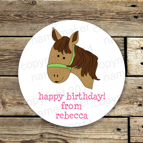Horse Gift Stickers