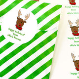 Reindeer Gift Stickers