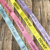 "5/8"" Personalized Ribbon by the Yard"