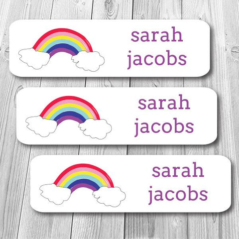 Rainbow Mini Waterproof Sticker