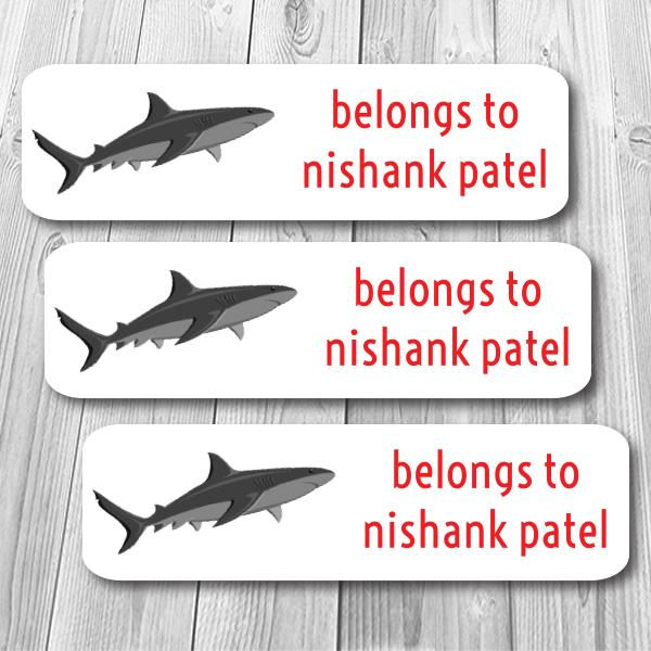 Shark Mini Waterproof Sticker