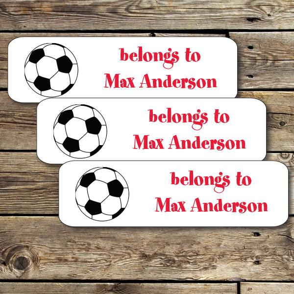 Soccer Mini Waterproof Sticker