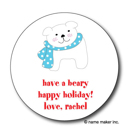 Polar Bear Gifts Stickers