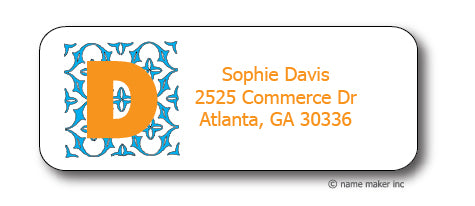 Sophie Address Stickers