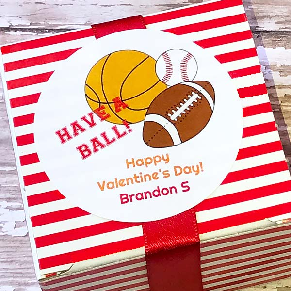 Have A Ball Gift Stickers