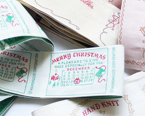 10 Merry Christmas Vintage Labels