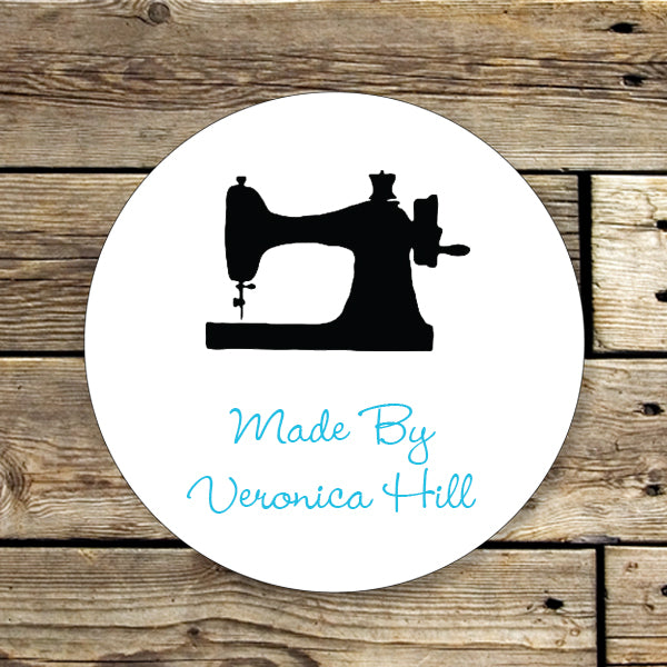 Vintage Sewing Gift Sticker