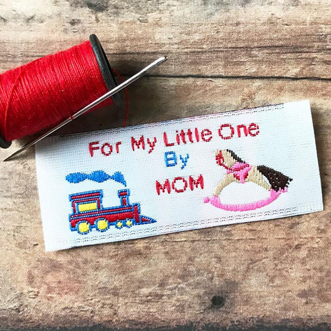 Set of 10 For My Little One by Mom