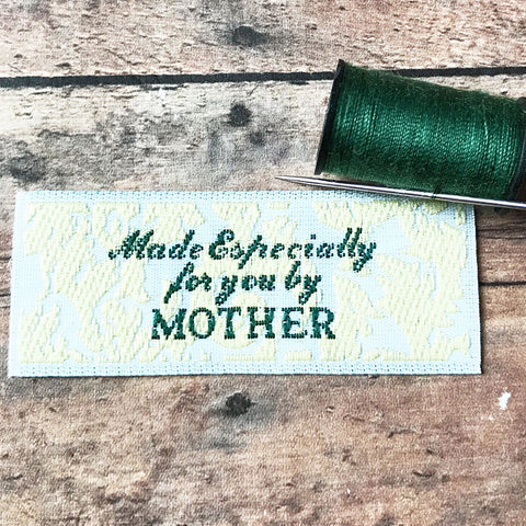 Set of 10 Made By Mother Labels