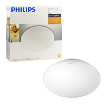 Plafón Philips redondo Roomstylers 30358 + 3 ampolletas led