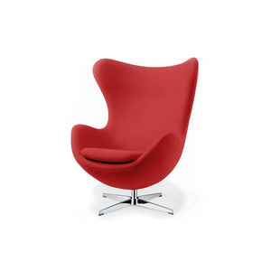 Silla sillon Huevo (Egg chair) Arne Jacobsen Rojo