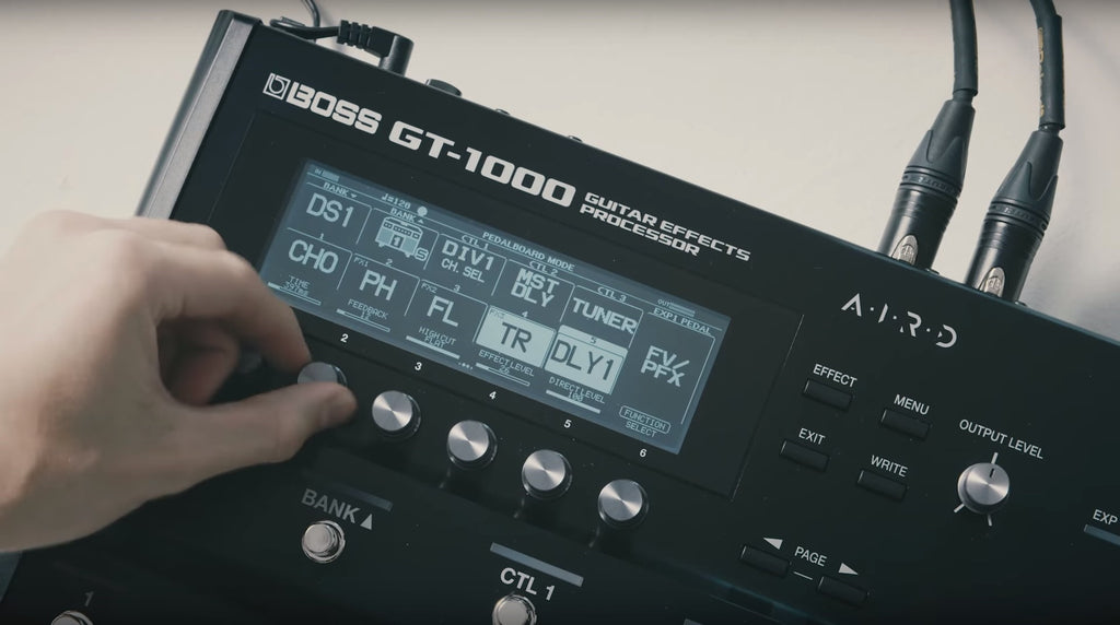 The BOSS GT-1000 Just Got Even Better - Firmware Update Out Now!