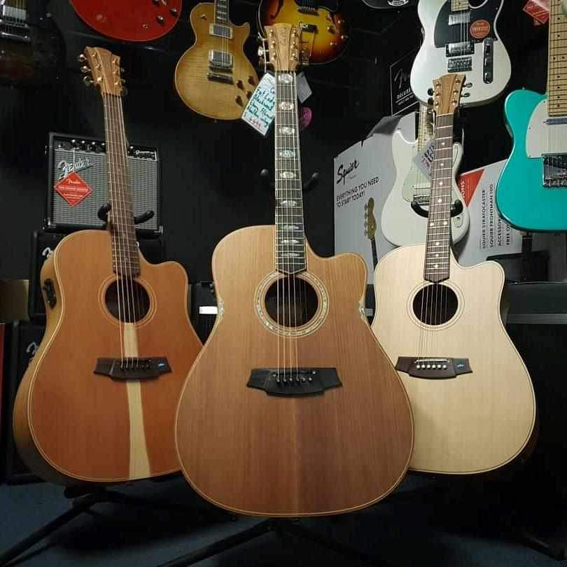 Cole Clark Guitars and Basses
