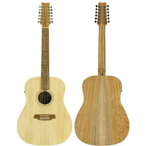 Cole Clark Fat Lady 1E 12-String Bunya Maple with Case