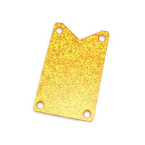 Gretsch Truss Rod Cover, Falcon Models, Gold Sparkle Miscellaneous Parts