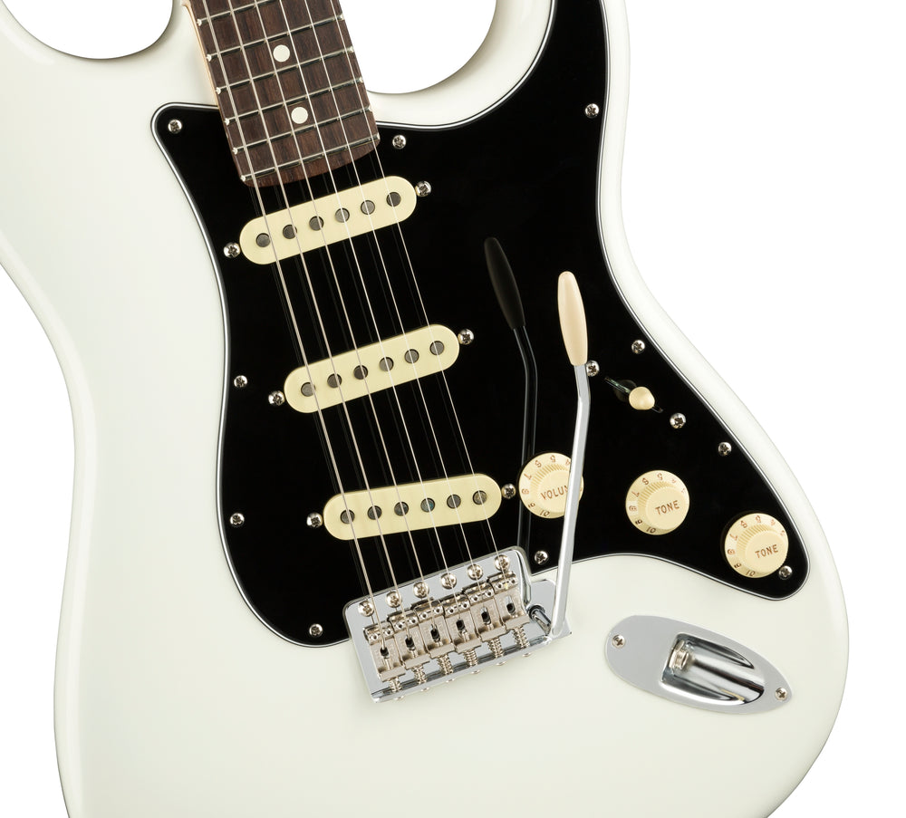 Fender American Performer Stratocaster Rosewood Fingerboard Arctic White Electric Guitar