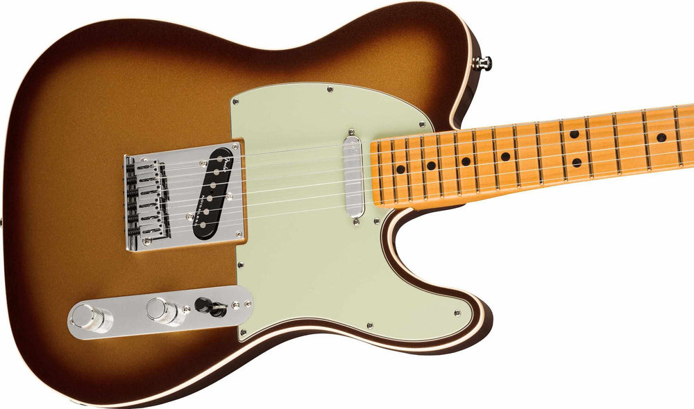Fender American Ultra Telecaster, Maple Fingerboard, Mocha Burst Electric Guitar