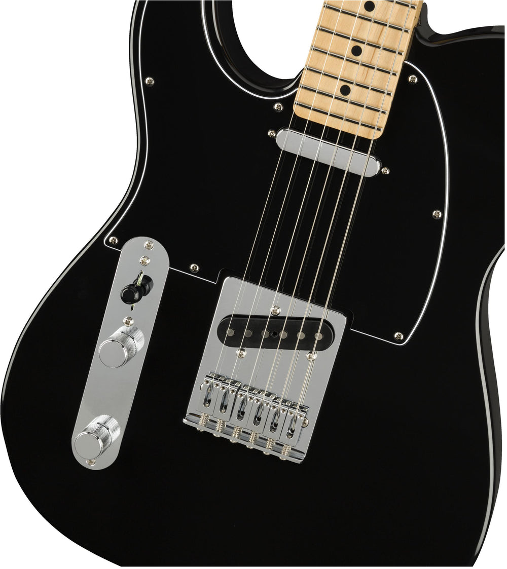 Fender Player Telecaster Left-Handed Maple Fingerboard Black, Fender, Haworth Music