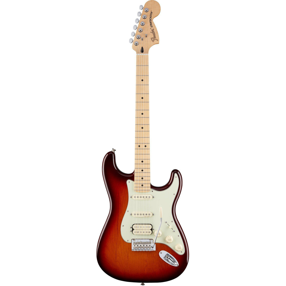 Fender Deluxe Stratocaster HSS Maple Fingerboard Electric Guitar, Fender, Haworth Music