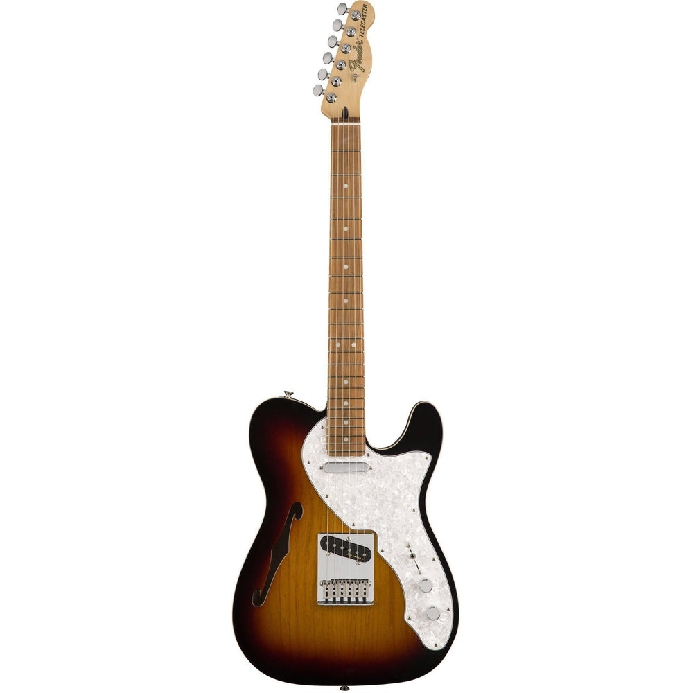 Fender Deluxe Telecaster Thinline Pau Ferro Fingerboard Electric Guitar, Fender, haworth-music