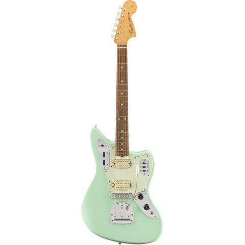 Fender Vintera 60s Jaguar Modified HH, Pau Ferro Fingerboard, Surf Green, Fender, Haworth Music