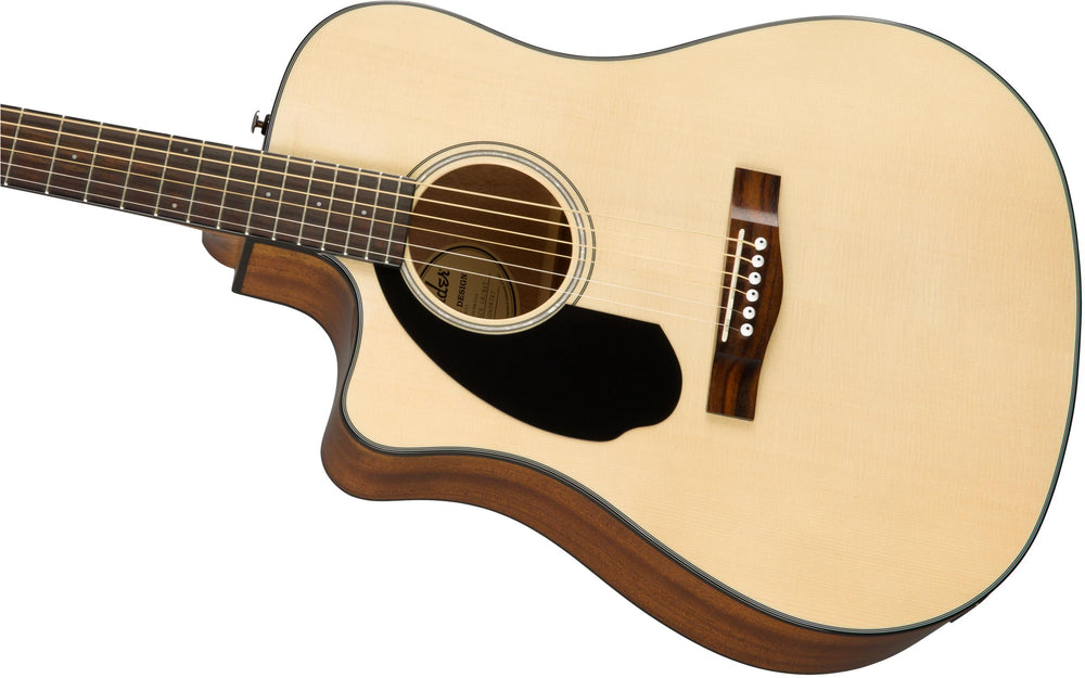 Fender  CD-60SCE LH Acoustic Guitar, Fender, haworth-music