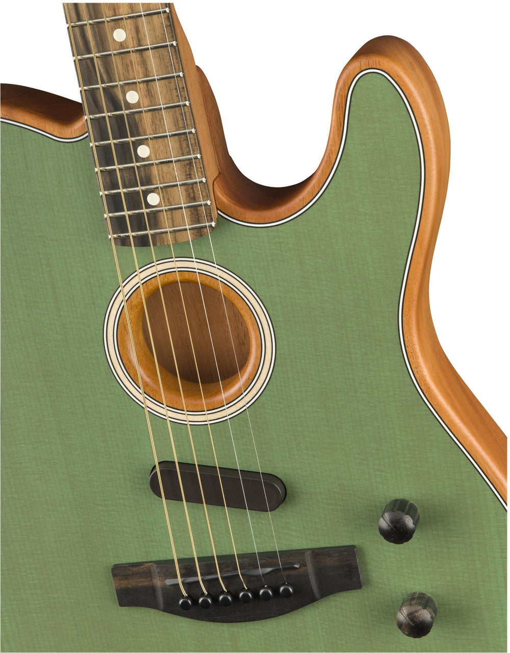 Fender American Acoustasonic Telecaster, Ebony Fingerboard, Surf Green, Fender, Haworth Music