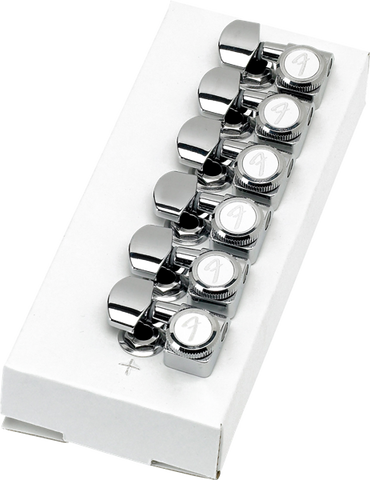 Fender Locking Stratocaster Telecaster Tuning Machines, Left-Handed, Fender, Haworth Music