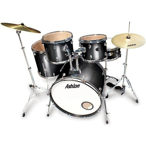 Ashton TDR522BK Rock Drum Kit, Ashton, Haworth Music