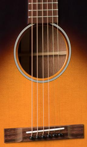 Martin 00-17SE Whiskey Sunset 17 Series Acoustic Electric Guitar, Martin, Haworth Music