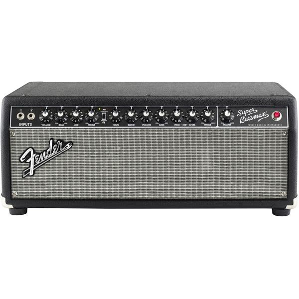 Fender Super Bassman 240V AUS Black Bass Amplifier, Fender, Haworth Music