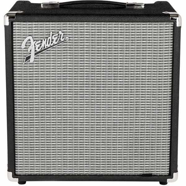 Fender Rumble 25 V3 240V AUS Black/Silver Amplifier, Fender, Haworth Music