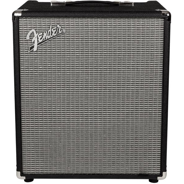 Fender Rumble 100 V3 240V AUS Black/Silver Amplifier Bass, Fender, haworth-music