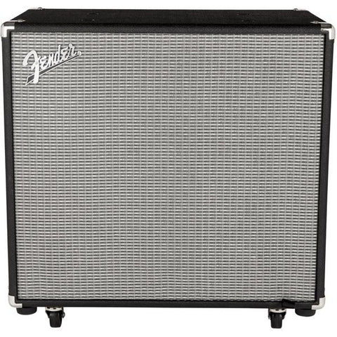 Fender Rumble 115 Cabinet V3 Black/Silver Amplifier, Fender, Haworth Music